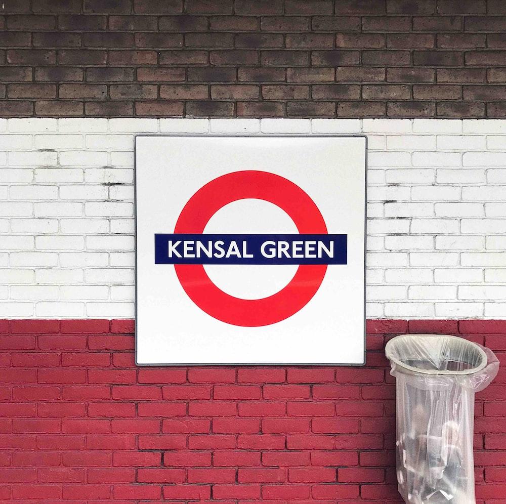 Kensal Green printed wall