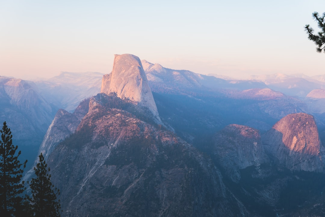 The fires in Mariposa had us worried that vision would be blurred, however, the drive up to Glacier Point did not disappoint. No picture can do this view any justice…