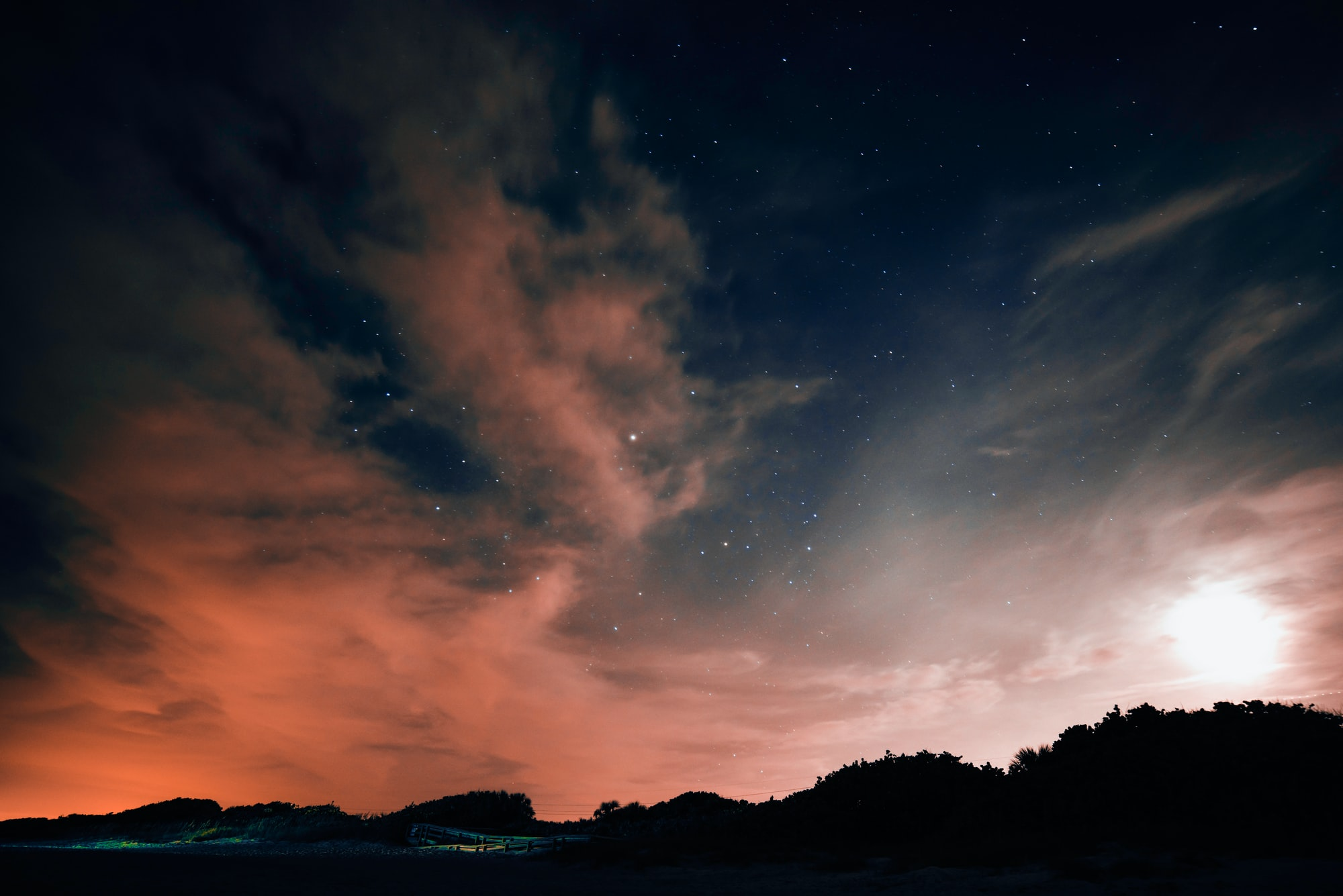 Облака перед рассветом