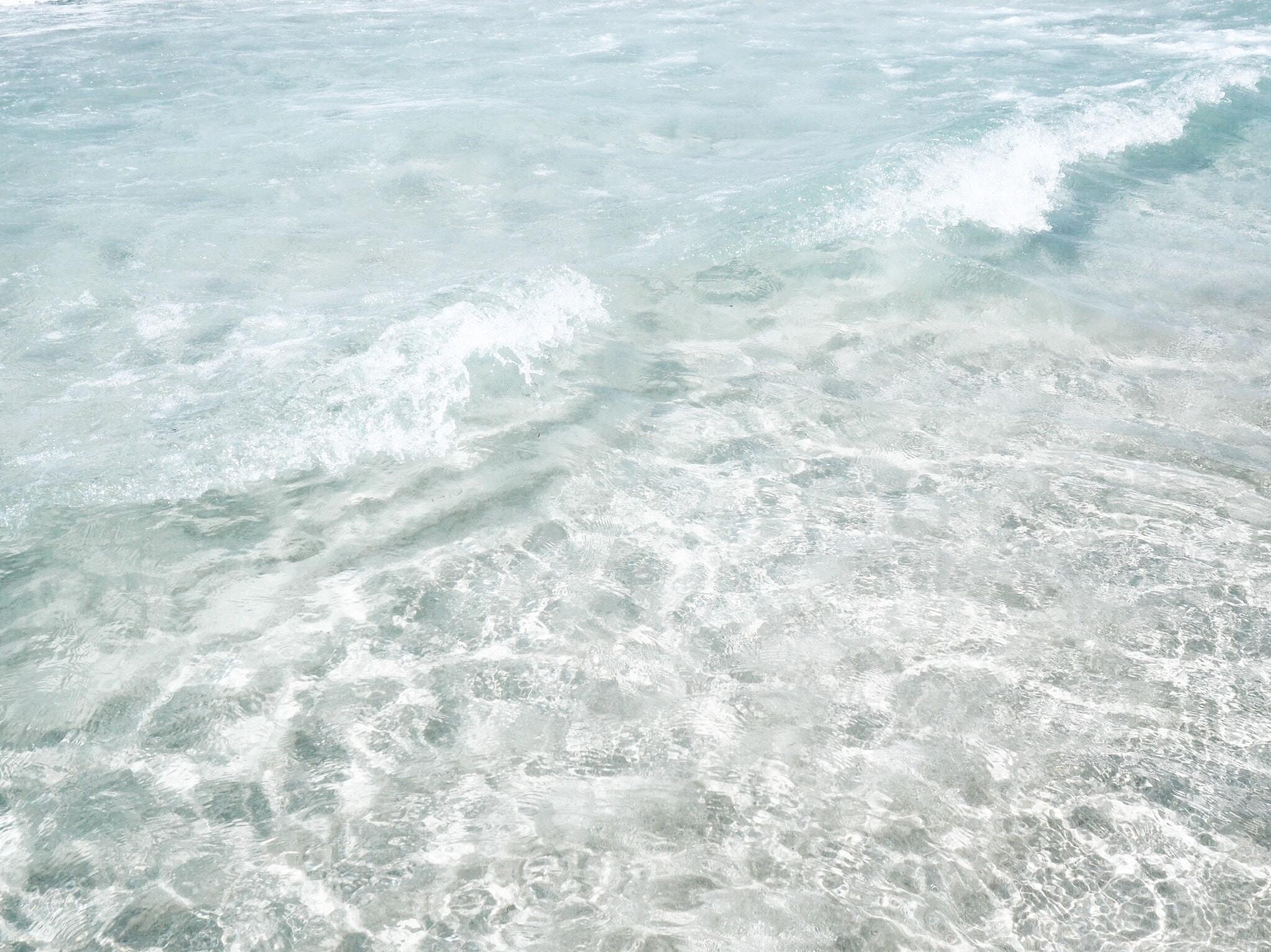 rippling body of water