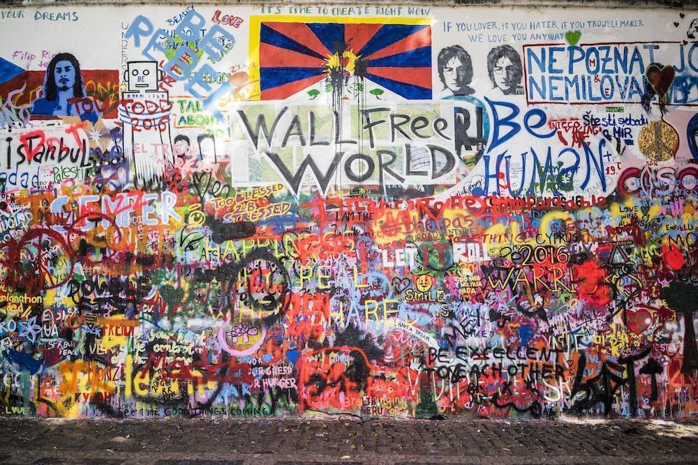 wall free world painting