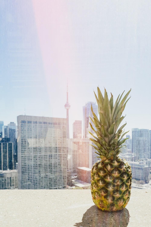 pineapple on roof