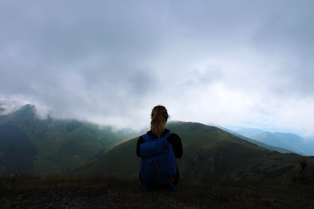 The mountains can be so quiet and so calm - it's easier to have a moment in these beautiful surroundings