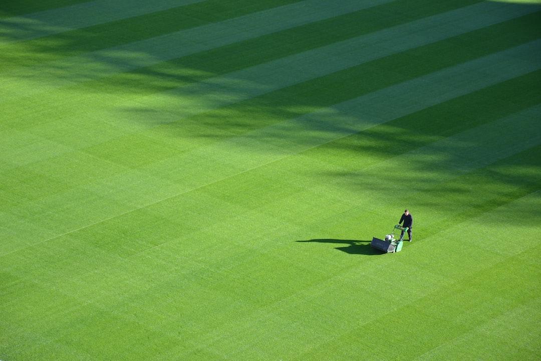 Croke Park grass cutter