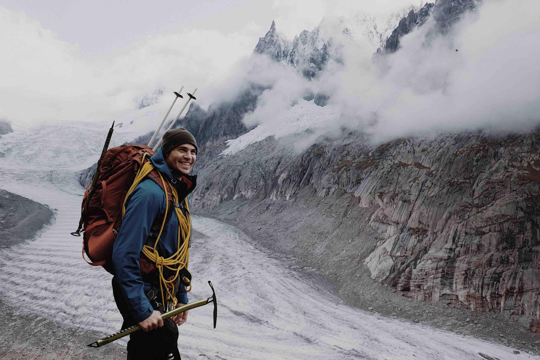 man standing near mountain at daytime