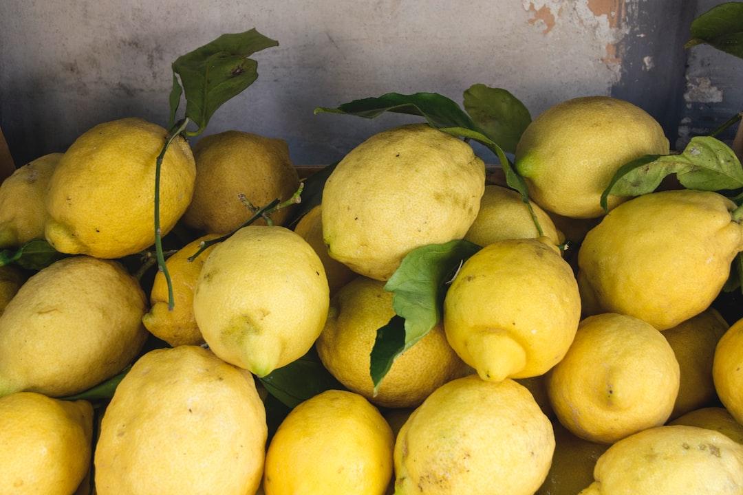 La historia de los siete limones por $10