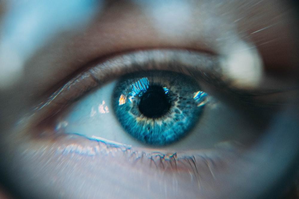 blue eye photo
