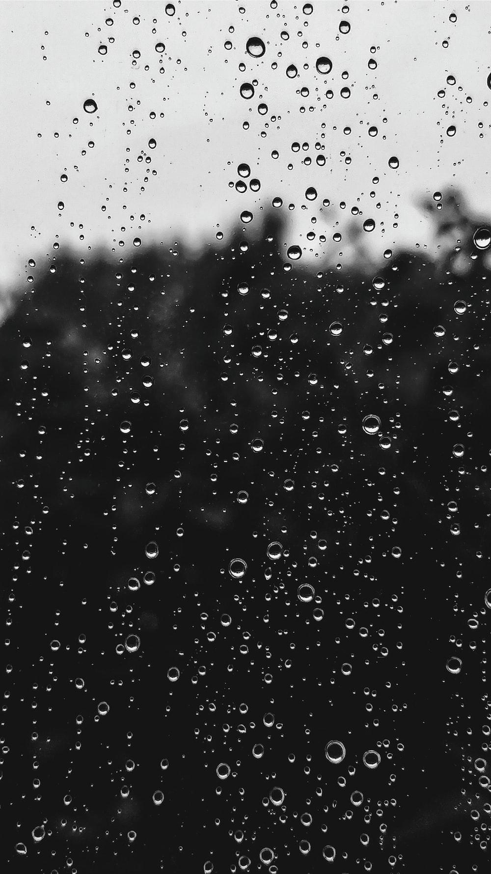 water dew on window