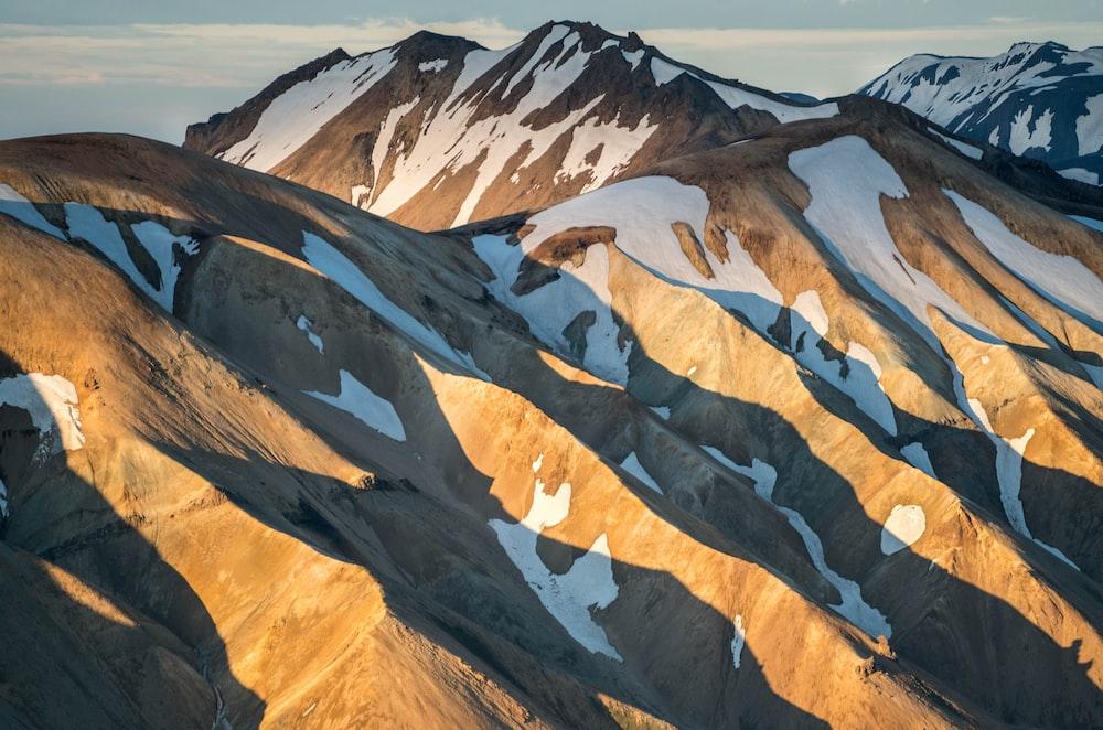 snowcap mountain