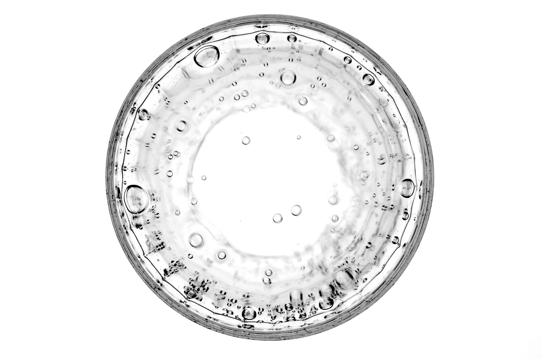 Clear Circle of Liquid - REALToDo CRM