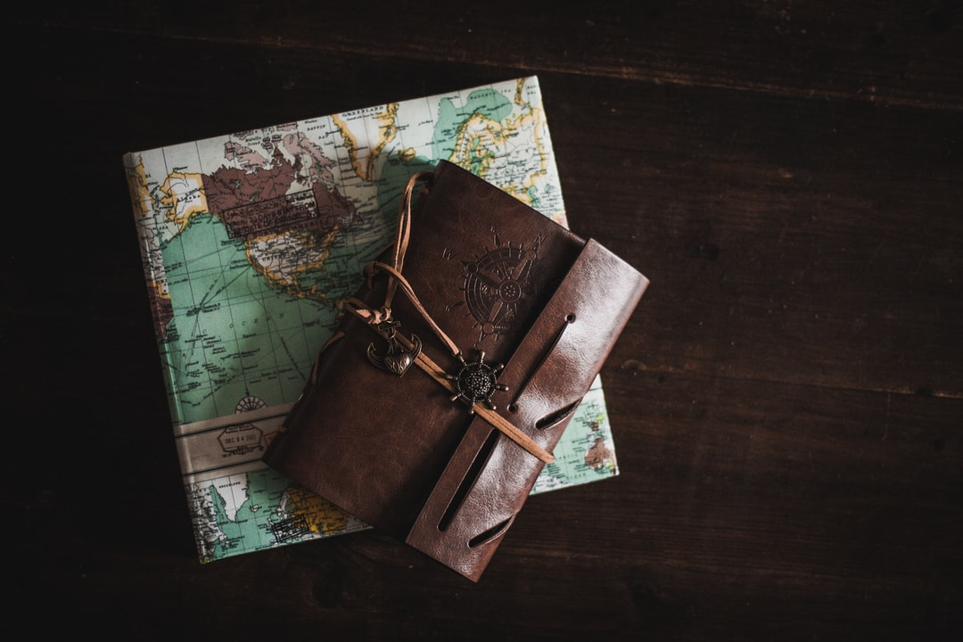 Leather Journal Travel Cologne