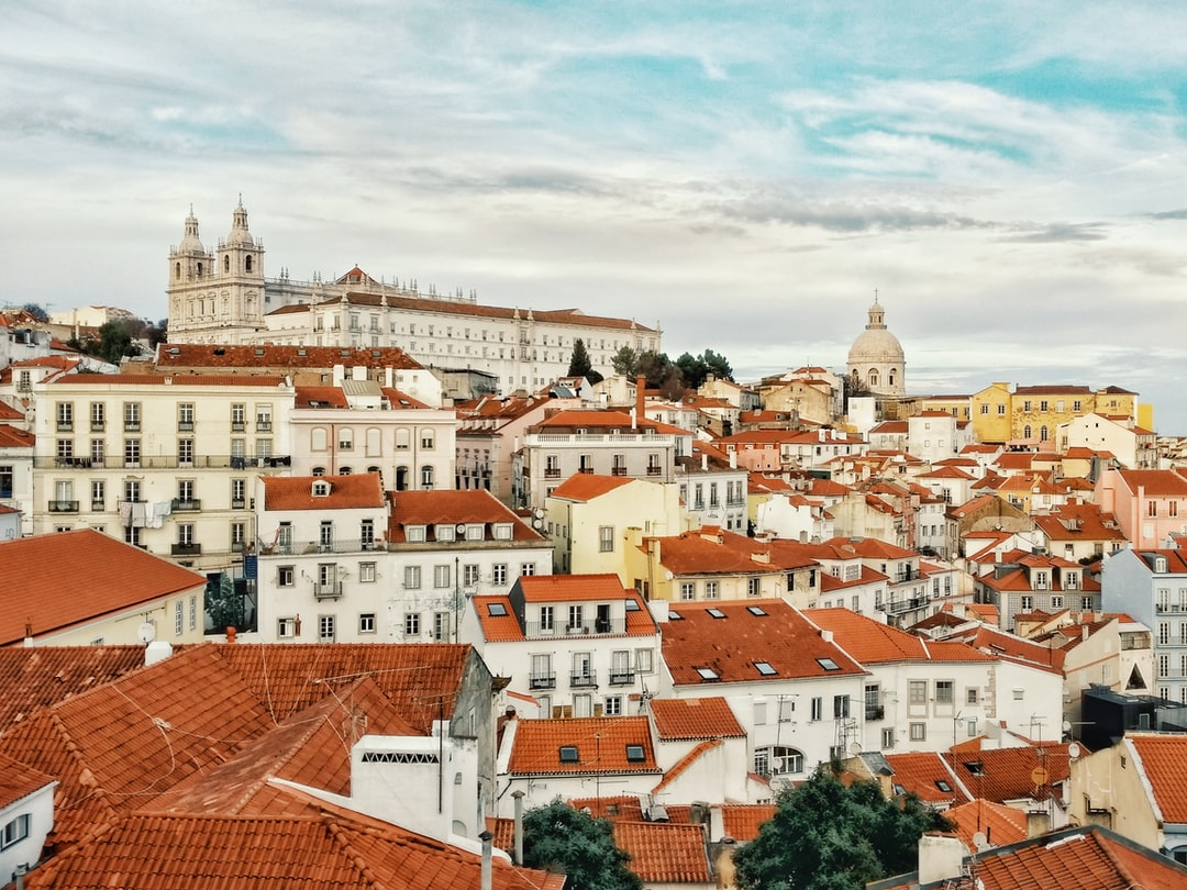 Looking out over Alfama, Lisbon