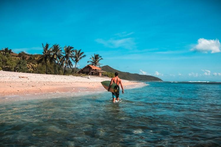 lombok-indonezja-plaża