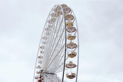 white Ferries wheel
