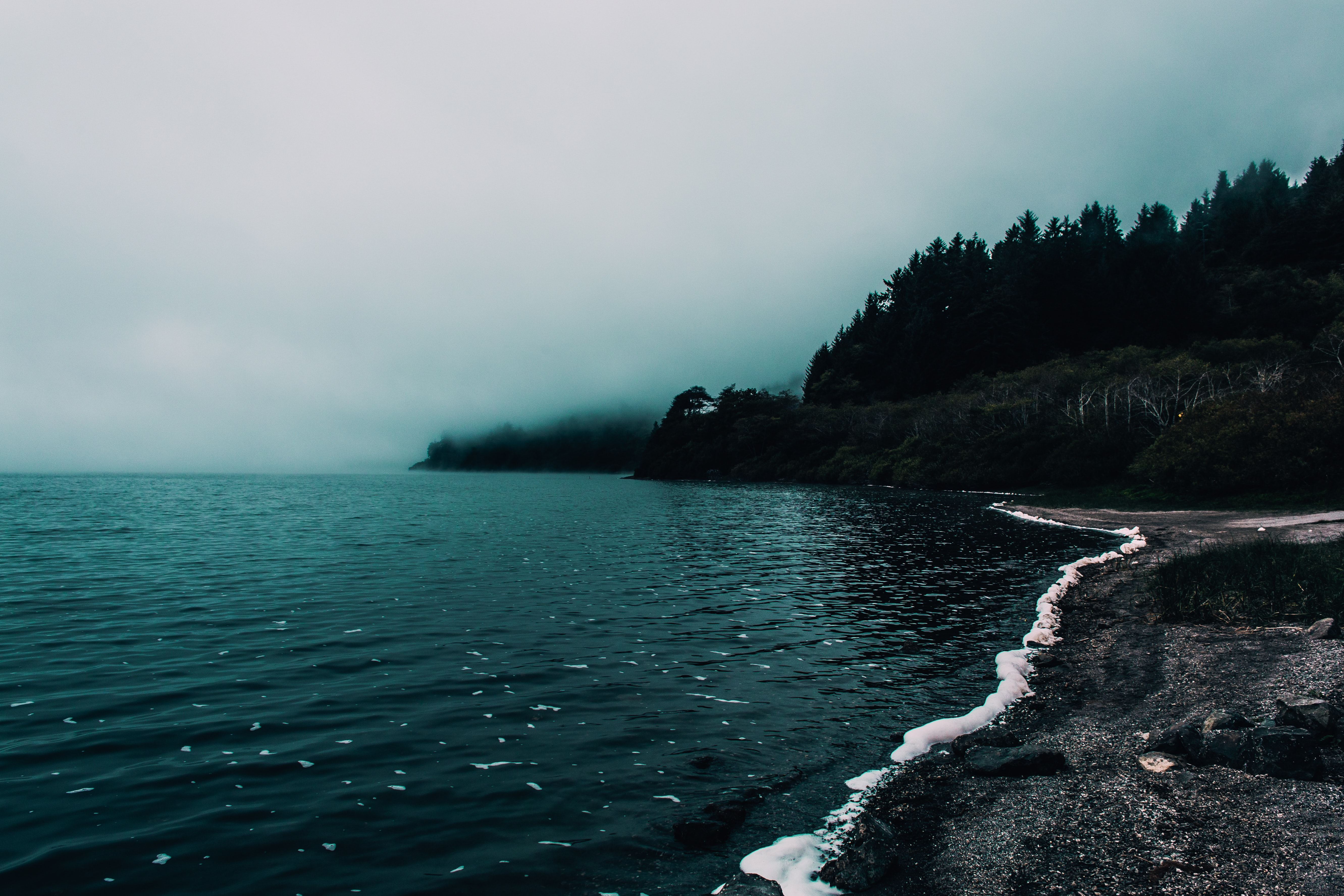 body of water photography