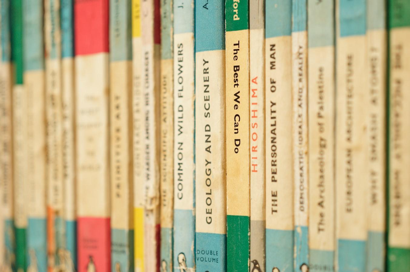 Classic mid-century Penguin books