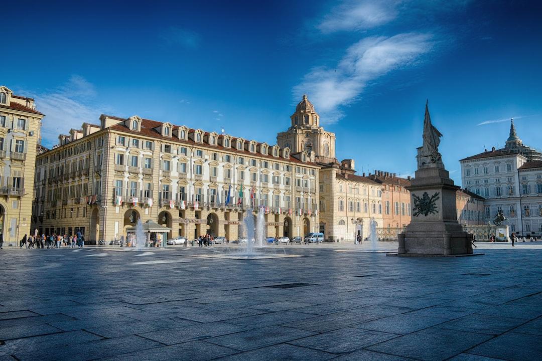 Palazzo della Regione a Torino in piazza Castello