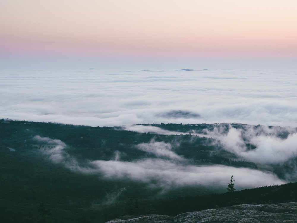 sea of clouds photography