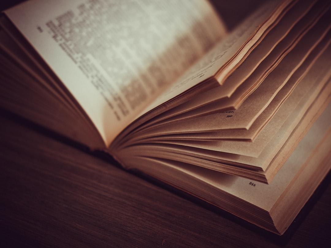 Thick half-open book