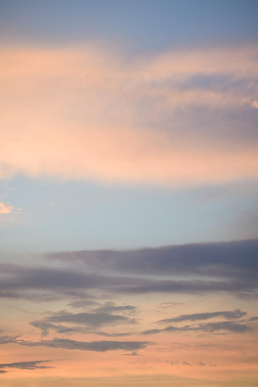 cloudy sky photo