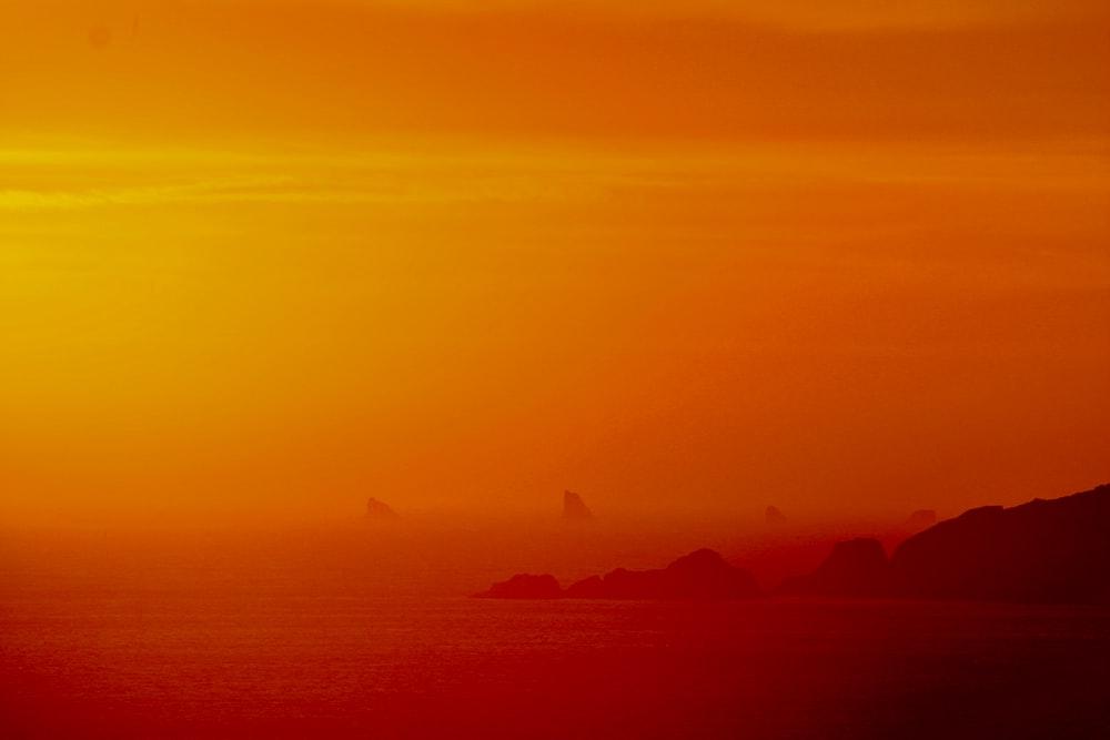 seashore golden hour