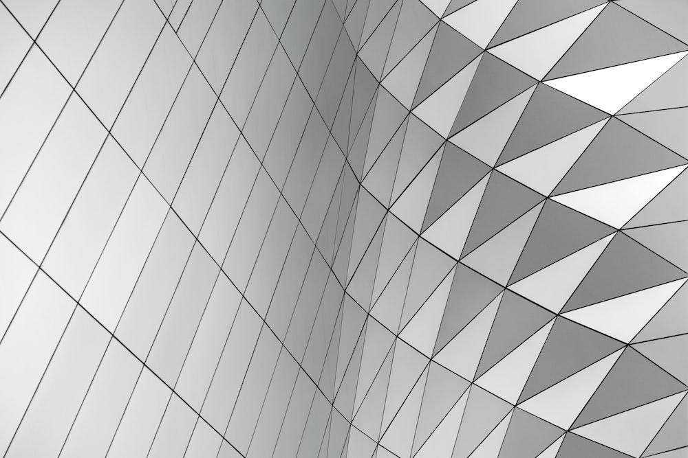 gray geometric wallpaper