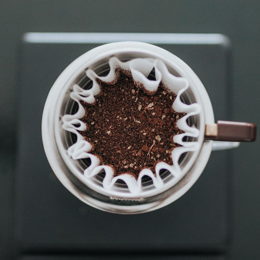 Koffie zonder machine