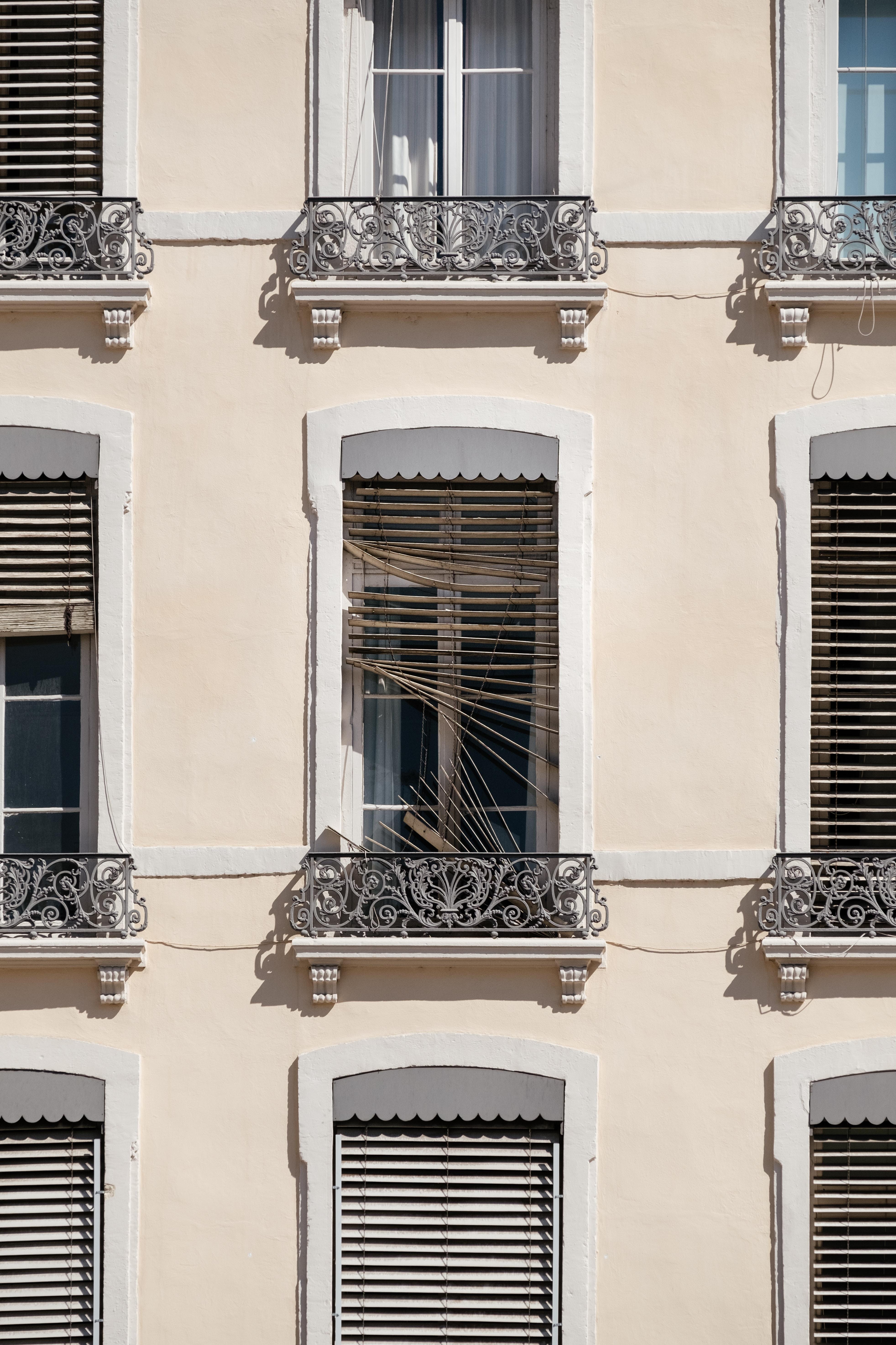 windows of tenement