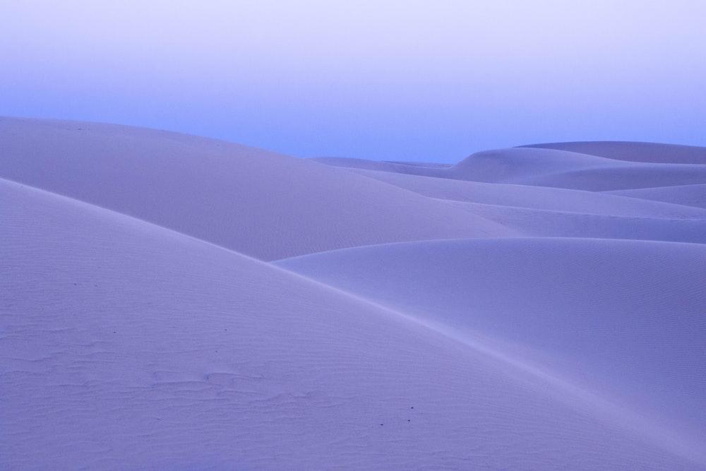 landscape photography of empty deset