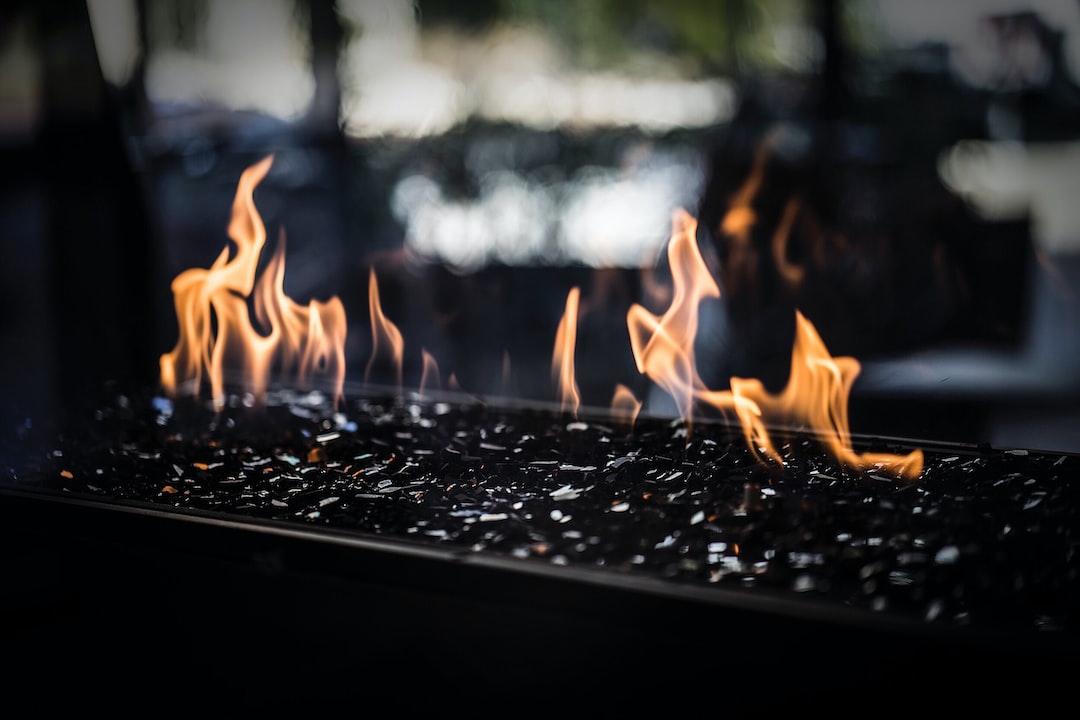 Unique Outdoor Fireplace