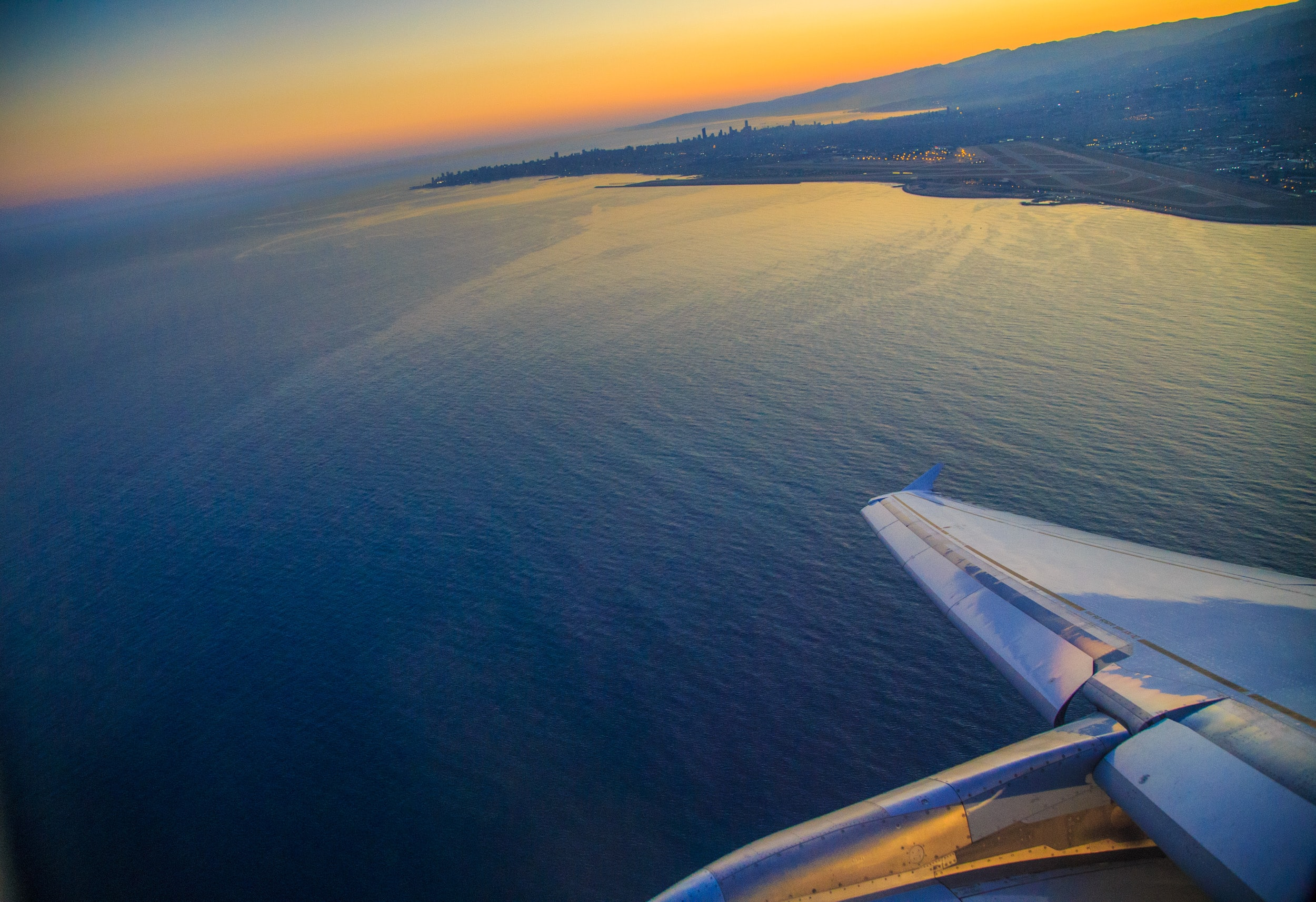 aerial photography sea