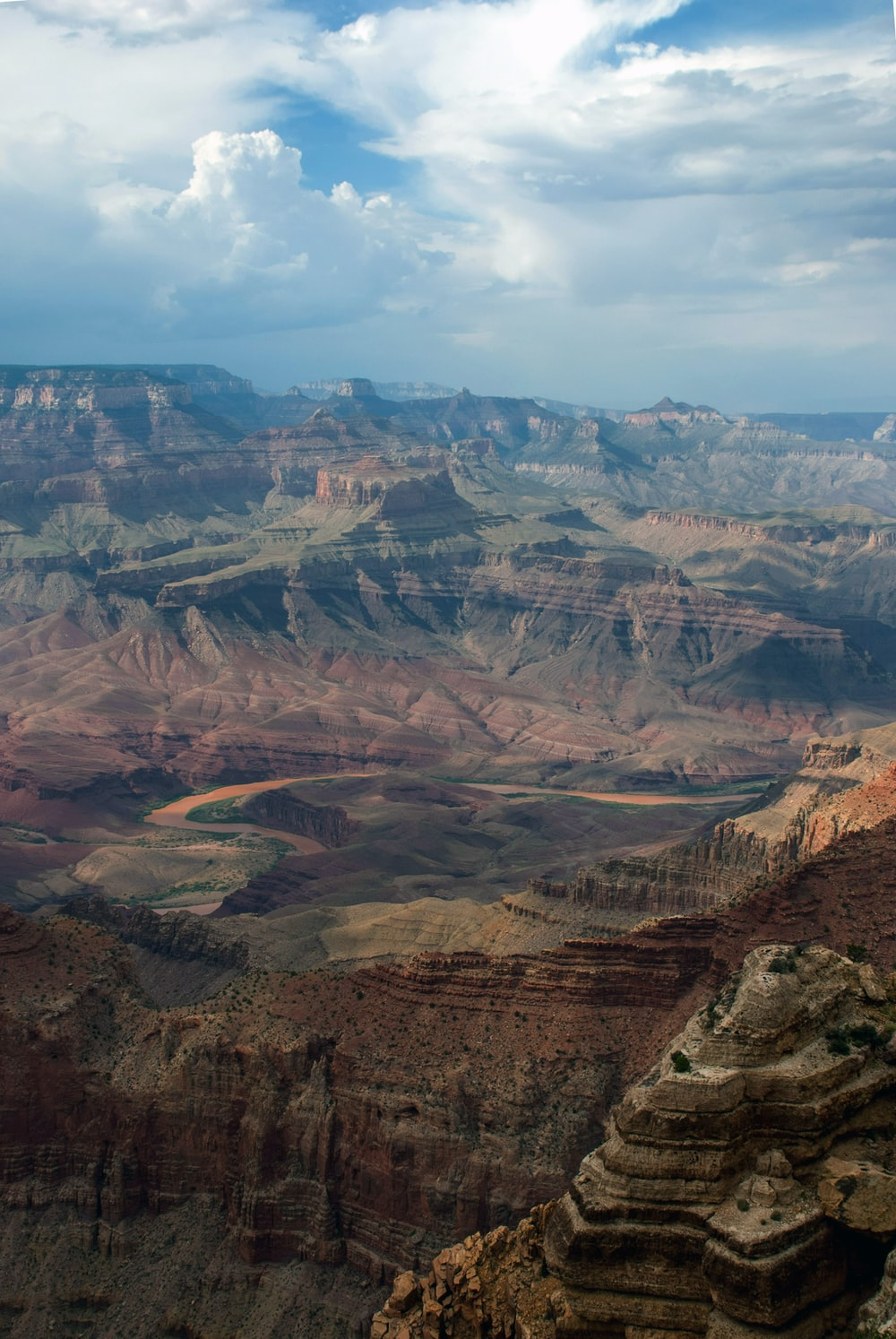 areal view of Grand Canyon, USA