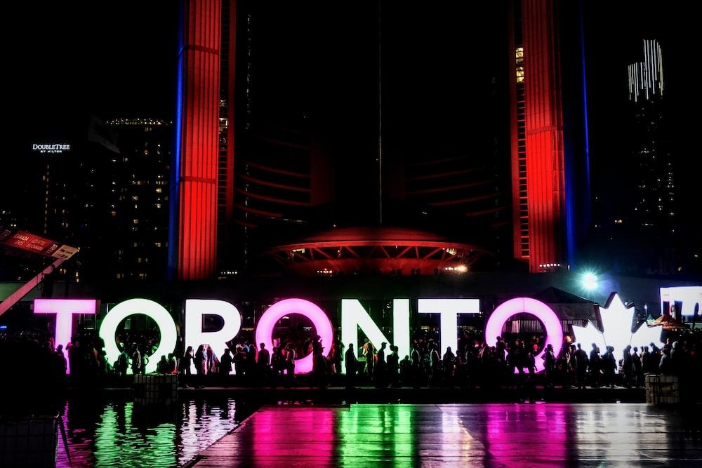 Toronto LED signboard