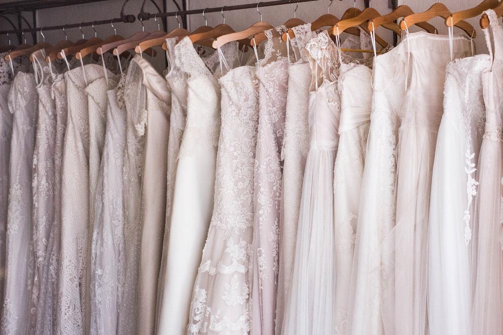 Unsplash search result for wedding drresses
