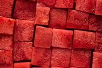 diced watermelon