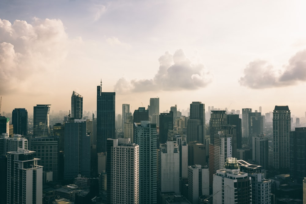 landscape photography of high-rise buildings