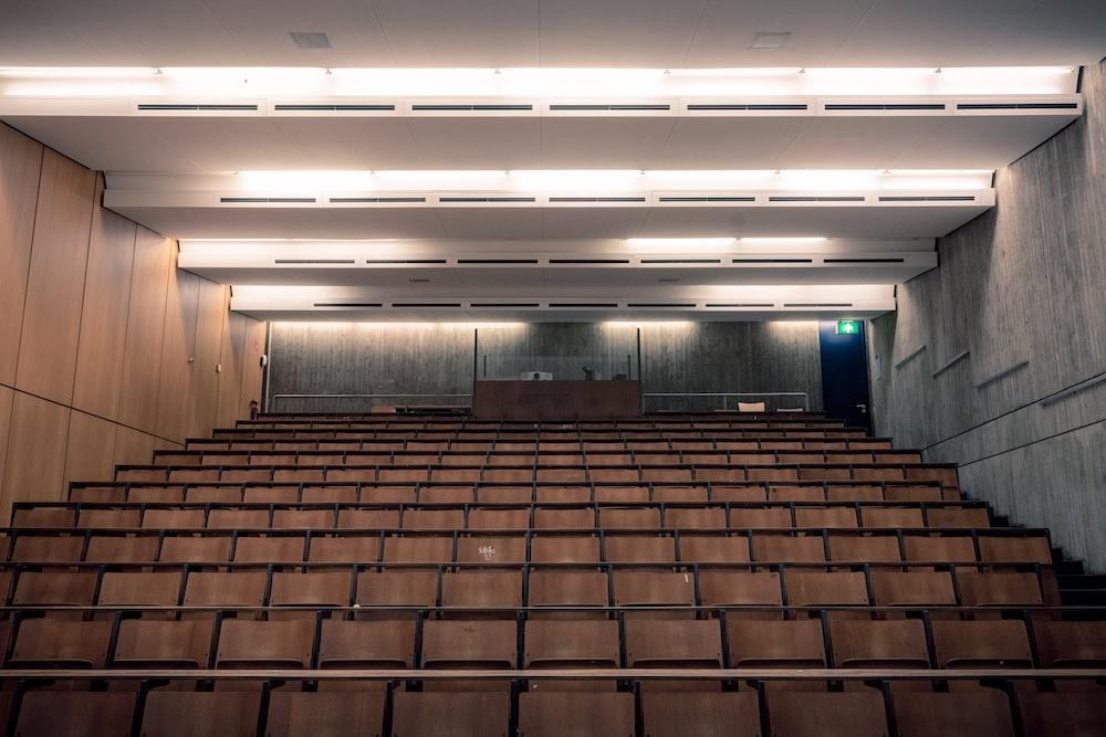 empty theater room