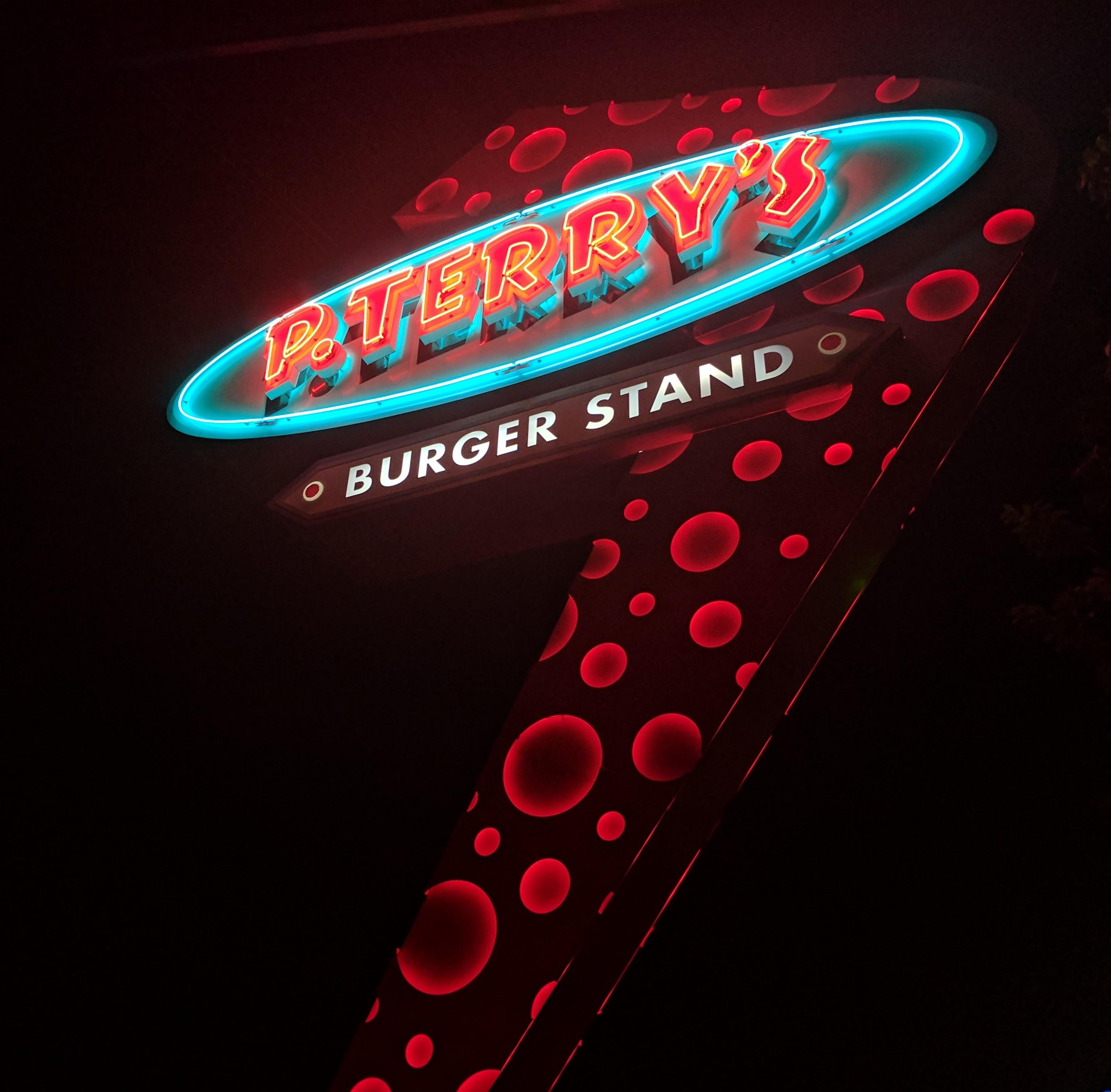 P. Terry's LED signage