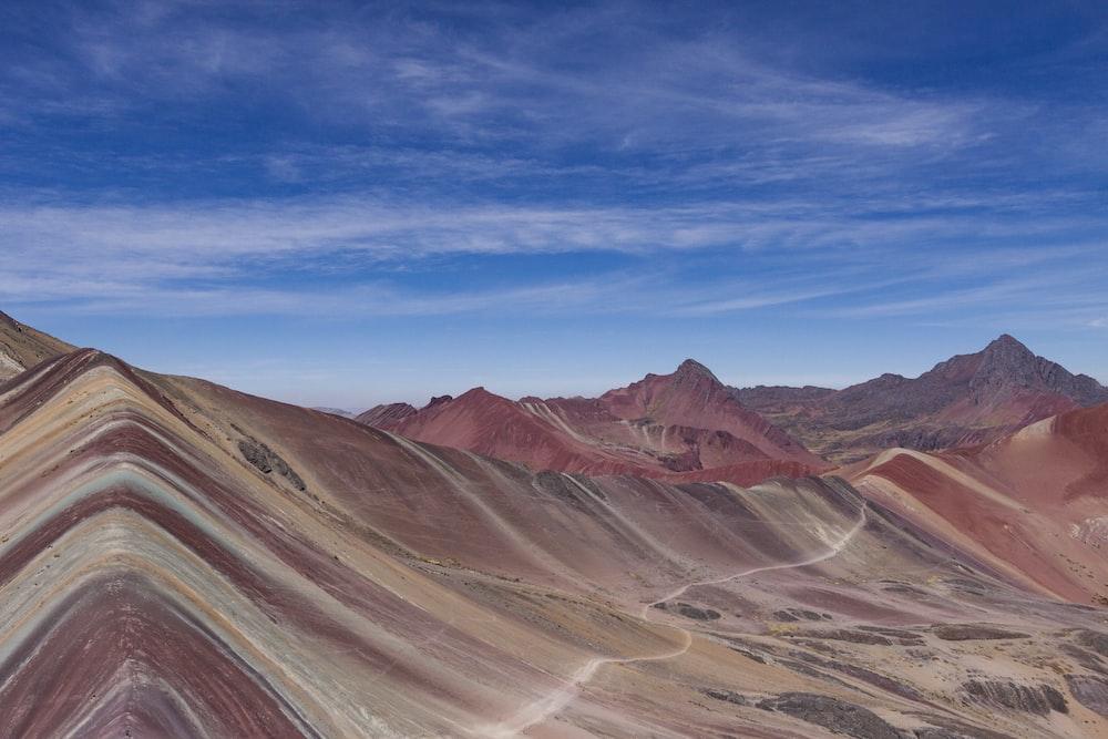 photography of desert landscape