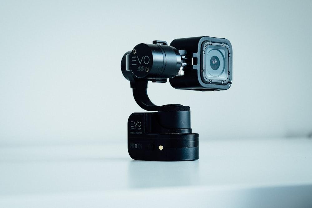 black GoPro HERO 5 with gimbal