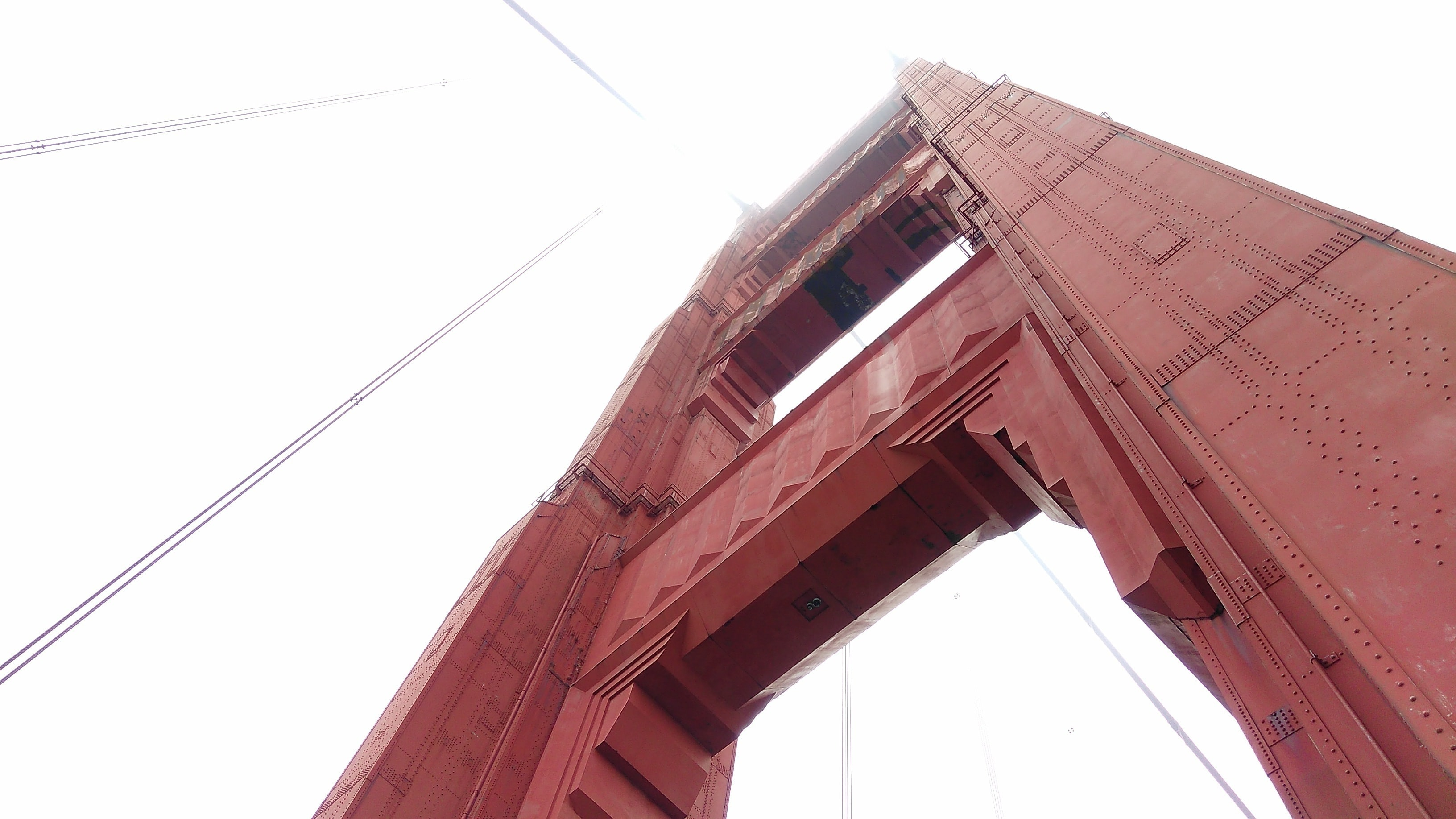 low angle photograph of Golden Gate, New York