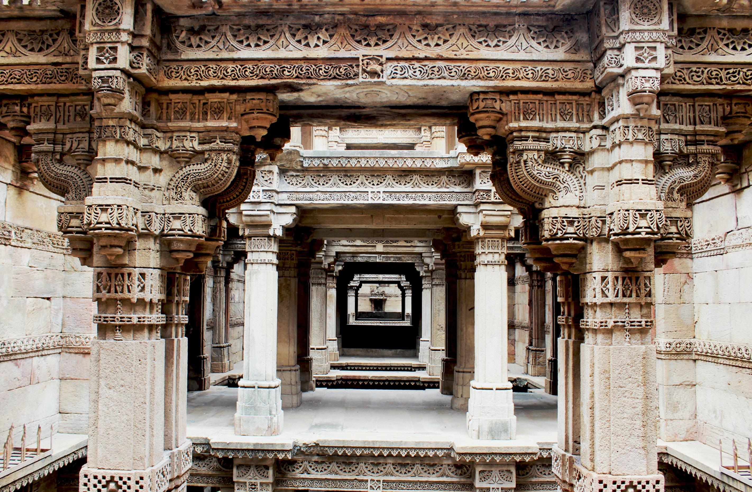 stone pillars during daytime