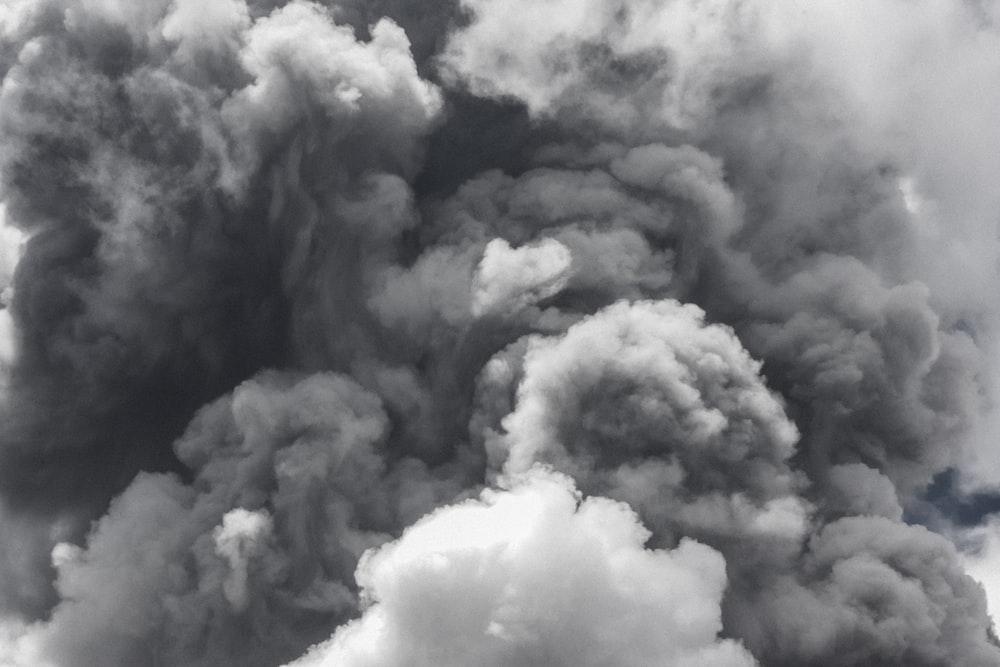 smoke during daytime