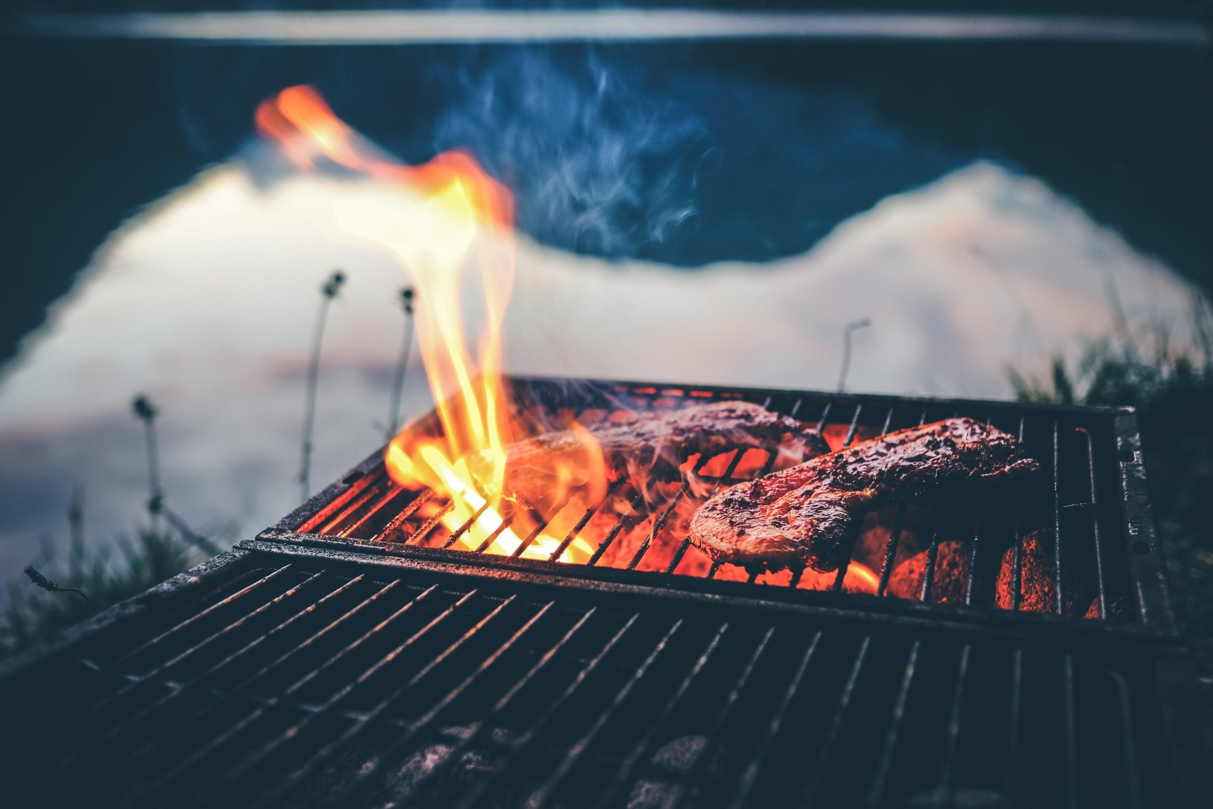 bbq grill huts
