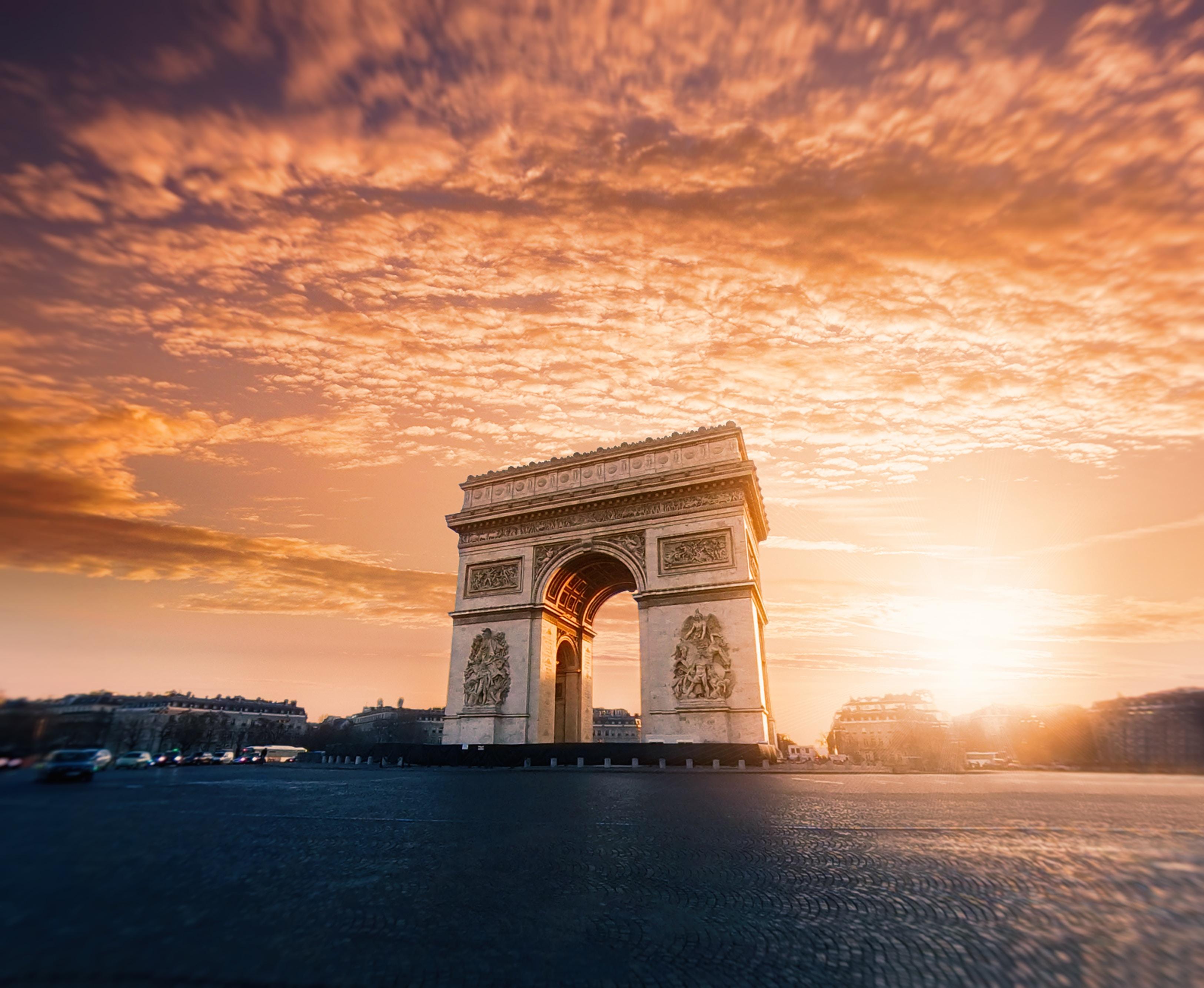 Arc the Triumph, Paris France