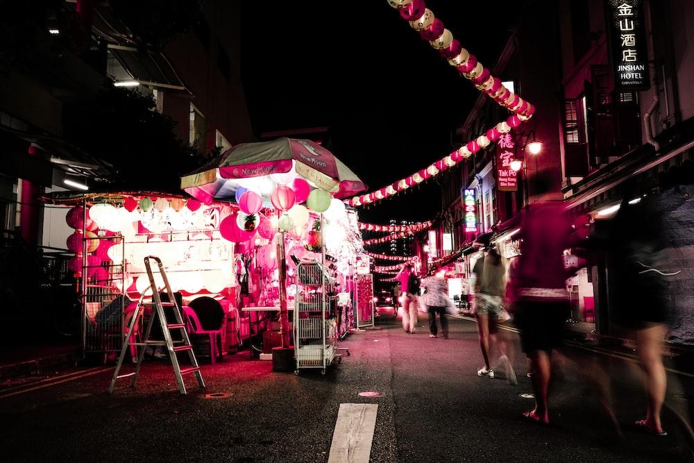 street store stall