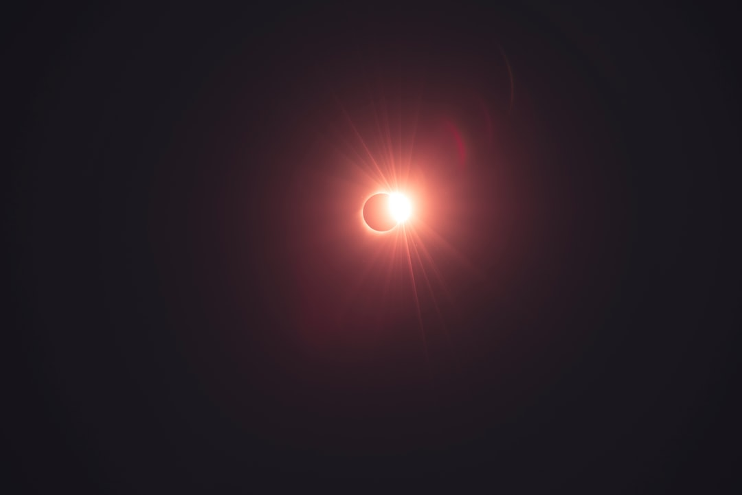 Got a chance to witness one of the most amazing sights in my life, the Total Eclipse. This is the Diamond Ring just after Totality, with a slight red hue applied. What an amazing sign that I will always remember.