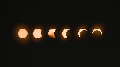 total lunar eclipse magic zoom background