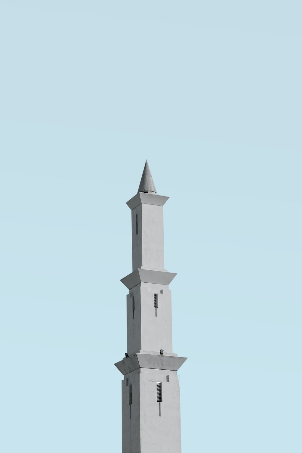 gray concrete tower
