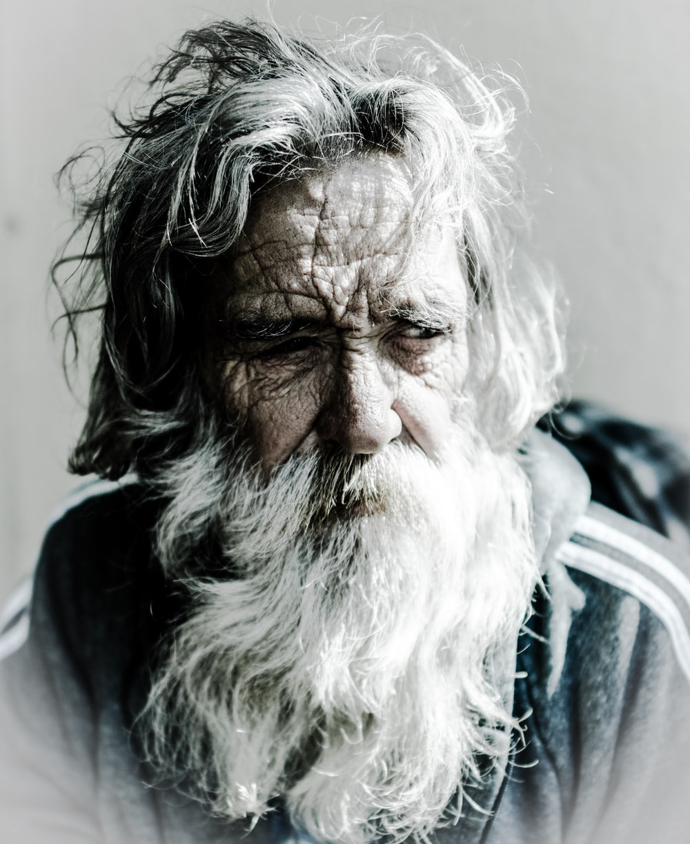 man's portrait photography